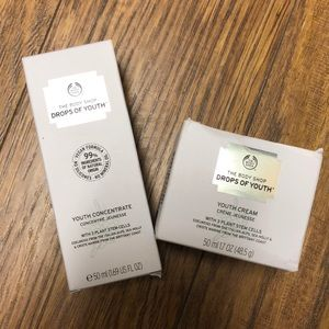 The Body Shop drops of youth bundle